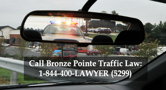 Bronze Pointe Traffic Law